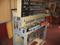 Elektromechanisches Stellwerk Bauart E43 des ehemaligen Bahnhofs Lehre b. Braunschweig